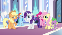 Rarity it's cool right S3E1