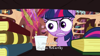 Twilight levitating the quills S3E01