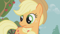 Applejack listens to Apple Bloom S1E12.png