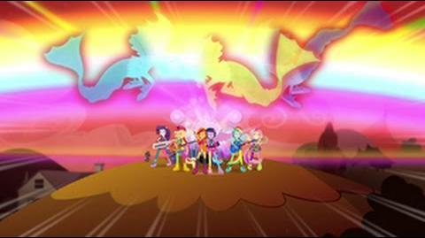 Danish Equestria Girls Rainbow Rocks Welcome To The Show HD