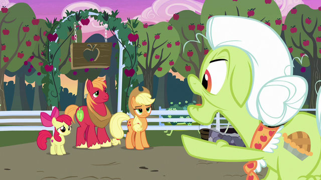 "File:Granny Smith ""ain't seen hide or hair of ya's"" S7E13.png"