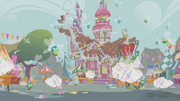 Parasprites lay siege to Ponyville S1E10.png