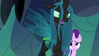 "Queen Chrysalis ""the only thing Thorax has found"" S6E26"