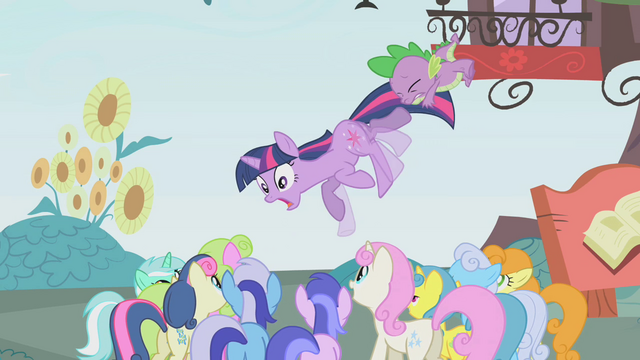 """File:Twilight and Spike """"RUN!"""" S1E03.png"""