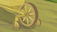 Wagon wheel with support wheels S4E17