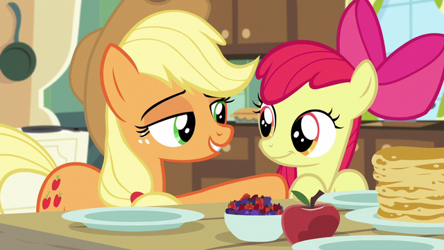 File:AJ puts supporting hoof on Apple Bloom S5E4.png