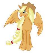 FANMADE Alicorn Applejack