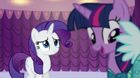 "Twilight ""everypony seemed to love the Princess Dress!"" S5E14"
