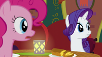 Pinkie and Rarity hear Coriander Cumin S6E12