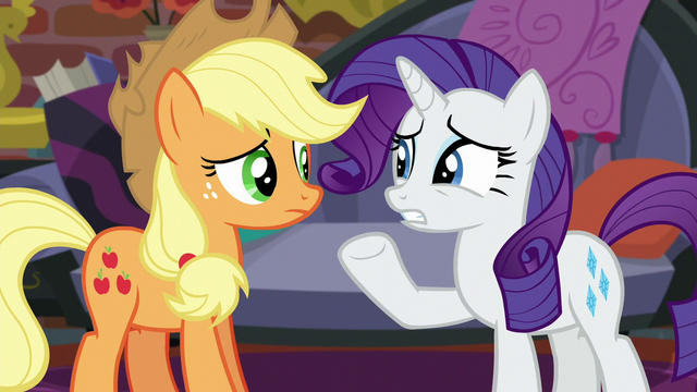 "File:Rarity ""what are you suggesting?"" S5E16.png"