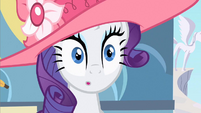 Rarity hear trumpet S2E9