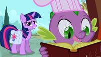 Spike licking lips S03E11