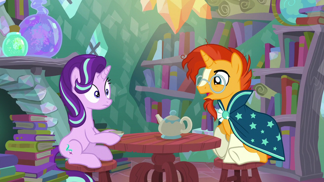 "File:Sunburst ""did something happen to you"" S6E1.png"