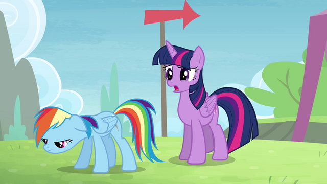 File:Twilight 'Some ponies do what' S4E10.png