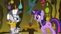 Twilight 'You'll train me in magic' S3E05