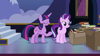 """Twilight Sparkle """"get rid of these boxes"""" S6E25"""