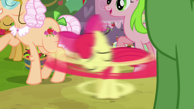 File:Apple Bloom gets spinned S3E08.png