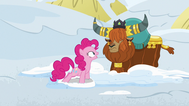 """File:Pinkie Pie """"and the yak snow sandwiches?"""" S7E11.png"""