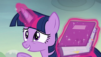"Twilight Sparkle ""we can move it up"" S5E23"