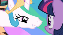 "Celestia ""When and only when you happen to discover them"" S2E3"