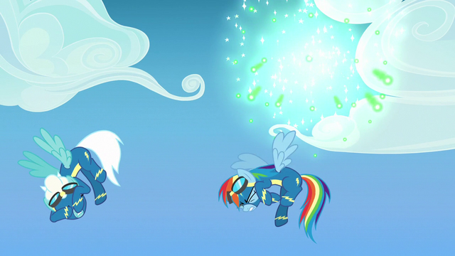 File:Fireworks explode behind Rainbow and Fleetfoot S7E7.png