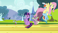 Fluttershy after passing anemometer S2E22.png