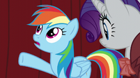 "Rainbow ""we need you to fly in Spitfire's place!"" S5E15"