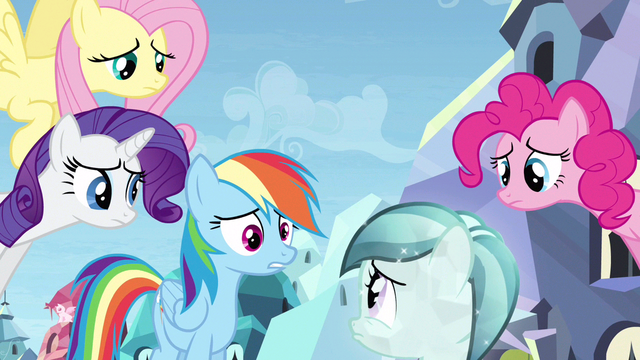 File:Rainbow Dash making things worse S3E12.png