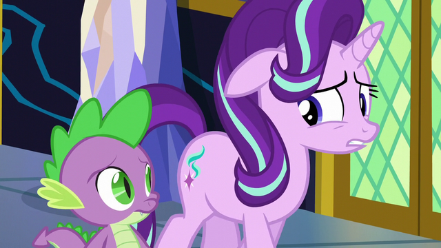 """File:Starlight """"not exactly thrilled with the options"""" S6E1.png"""