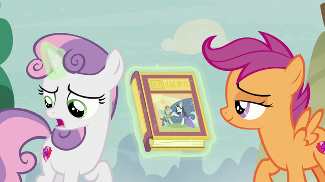 """File:Sweetie Belle """"I was younger on the way here!"""" S7E8.png"""