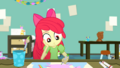 Apple Bloom happily drawing in art class SS10.png