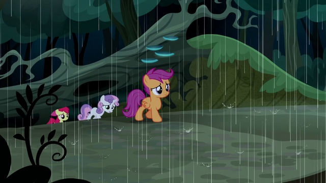 File:Cutie Mark Crusaders still lost S5E6.png