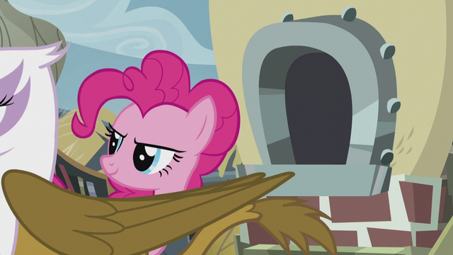 File:Gilda walking past Pinkie Pie S5E8.png