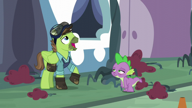"""File:Horticultural Pegasus """"they'll keep a few more hours"""" S5E10.png"""