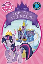 My Little Pony Meet the Princess of Friendship storybook cover