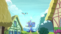 Rainbow flies to the castle S5E03