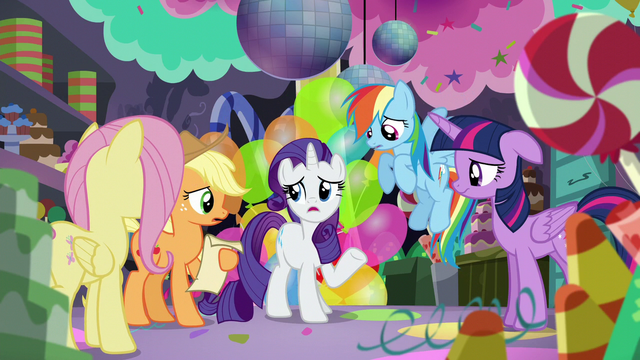 "File:Rarity ""how much we all appreciate her hard work"" S5E11.png"
