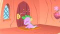 Spike after bumping into the door S1E24.png