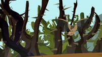 Bat blowing raspberry S2E07