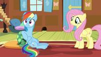 Rainbow heard Fluttershy S5E5