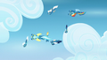 Wonderbolts flying in helical pattern S6E7.png