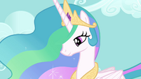 Princess Celestia perfect regal shot S3E10