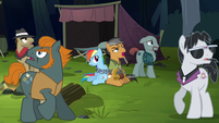 Quibble Pants acting unconvincingly S6E13