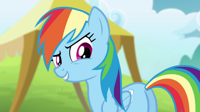 "File:Rainbow ""come on, Ponyville relay team!"" S4E10.png"