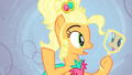 Applejack looking at herself in mirror S4E13.png