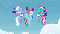 Cheerleaders cheering for Rainbow S4E10.png