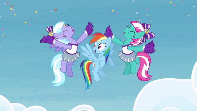File:Cheerleaders cheering for Rainbow S4E10.png