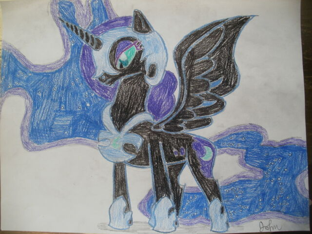 File:FANMADE Nightmare Moon drawing.jpg