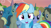 "Rainbow ""might have forgotten that for a little bit"" S4E22"