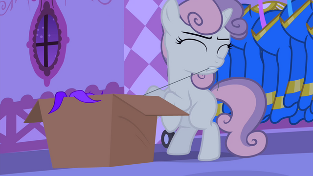 File:Sweetie pulls a thread off of Sapphire's headdress S4E19.png